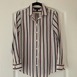 Banana Republic Stripe Button Down Shirt